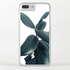 Ficus Elastica #16 #White #decor #art #society6 Clear iPhone Case