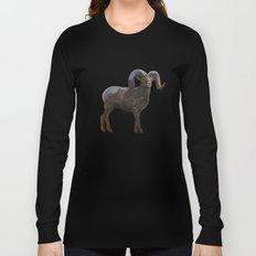 The Rocky Mountain Bighorn Sheep Long Sleeve T-shirt