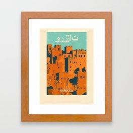 Morocco - Ouarzazate Framed Art Print