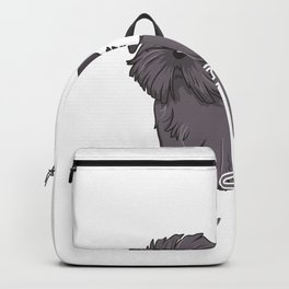 Only Talking To My Shih Tzu Today Dog Pet Owner Backpack