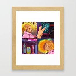 Death (tarot) Framed Art Print