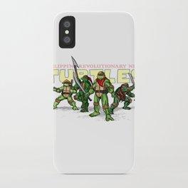 Philippine Revolutionary Ninja Turtles iPhone Case