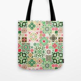 Moroccan Christmas Tote Bag