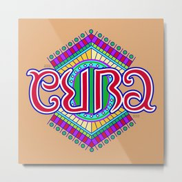 """CUBA"" Metal Print"