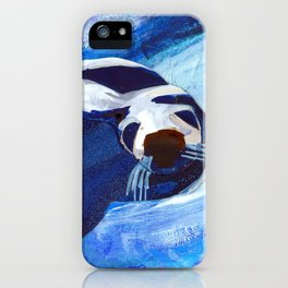 Swimming Seal iPhone Case