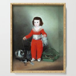 Francisco Goya Don Manuel Serving Tray
