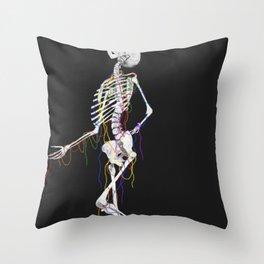 Strung up Throw Pillow