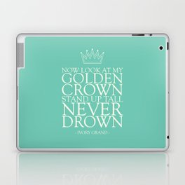 My Golden Crown Laptop & iPad Skin