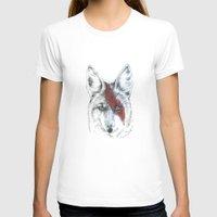 coyote T-shirts featuring Coyote III by Susana Miranda ilustración