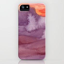 Mar de Lava iPhone Case