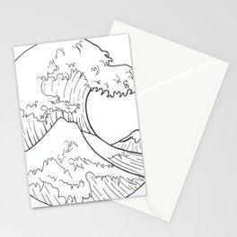 The wave of Kanagawa Stationery Cards