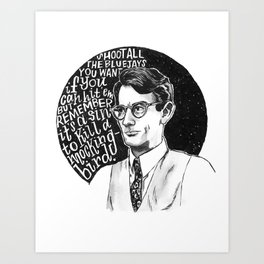 Atticus Finch Art Print