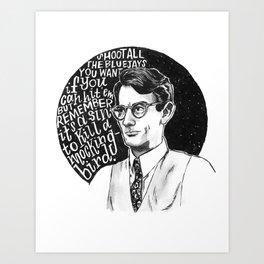 Atticus Finch Art Print