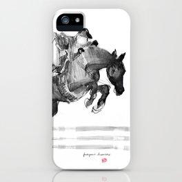 Horse (Jumper) iPhone Case