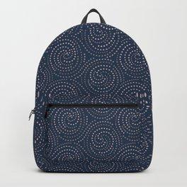 Midnight Swirls of Paris Starry Night Backpack