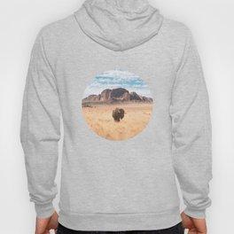 The Lonely Bison, Salt Lake City, Utah-Desert Landscape Hoody