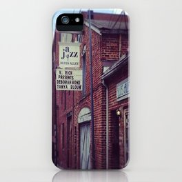 Blues Alley (Washington, DC) iPhone Case