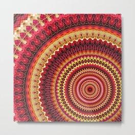 Mandala 141 Metal Print