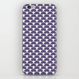 Dragon Scales Deep purple iPhone Skin