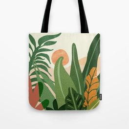 Desert Garden Sunset Tote Bag