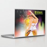 rebel Laptop & iPad Skins featuring Rebel by Don Kuing