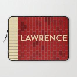 LAWRENCE   Subway Station Laptop Sleeve