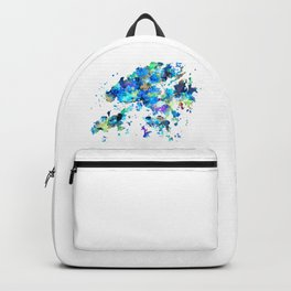 Hong Kong Map Backpack