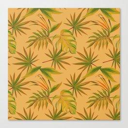 Leave Pattern Canvas Print