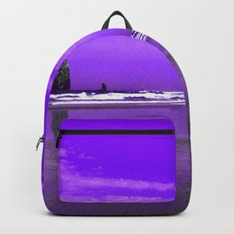 Oregon Coast Abstract Backpack