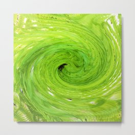 500 - Abstract Fern Design Metal Print