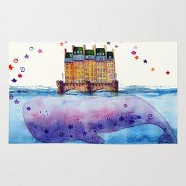 Bridge whale Rug