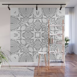 outback lines Wall Mural
