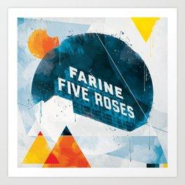 Farine five roses Art Print