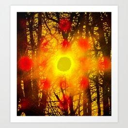 528 vortex Art Print
