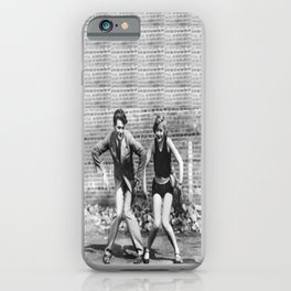 Charleston Couple iPhone Case