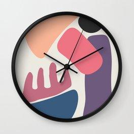 Abstract No.5 Wall Clock