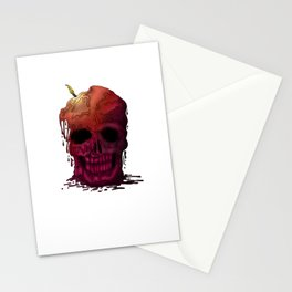 Skull Candle Stationery Cards