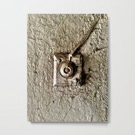 Vintage Doorbell Metal Print