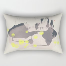 Study (On An Early Spring Day) Rectangular Pillow