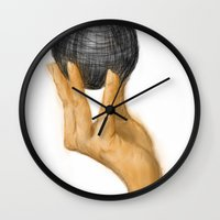 evolution Wall Clocks featuring Evolution by Booklils