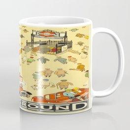 Vintage poster - London Underground Coffee Mug