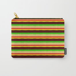 Burger Pattern Carry-All Pouch