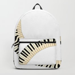 Pianom Keys Circle Backpack