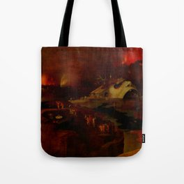 """Hieronymus Bosch (follower) """"Christ's Descent into Hell"""" Tote Bag"""