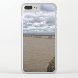 Birnbeck Pier. Clear iPhone Case