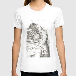 Human Anatomy Art Print LUNG AORTA HEART Vintage Anatomy, doctor medical art, Antique Book Plate, Me T-shirt