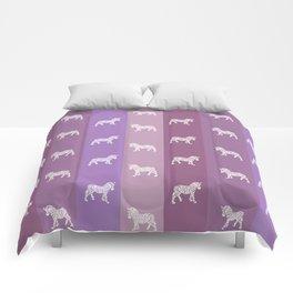 Zebra Pattern Comforters