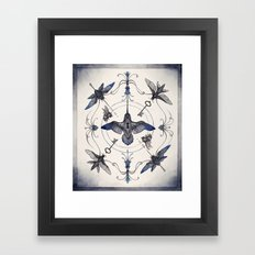 Pollinators Framed Art Print