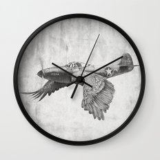 In which it's a bird. It's a plane. Wall Clock