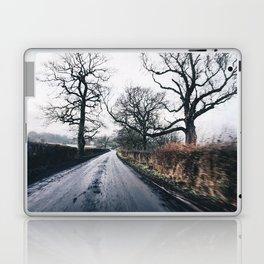 winter lanes in egland Laptop & iPad Skin